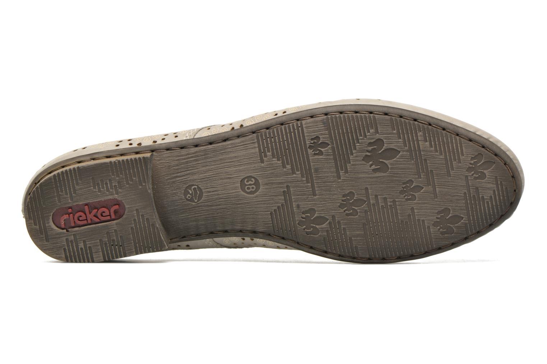 Chaussures à lacets Rieker Henry 51946 Beige vue haut
