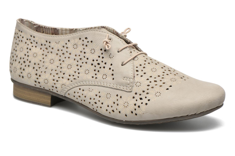 Chaussures à lacets Rieker Henry 51946 Beige vue détail/paire