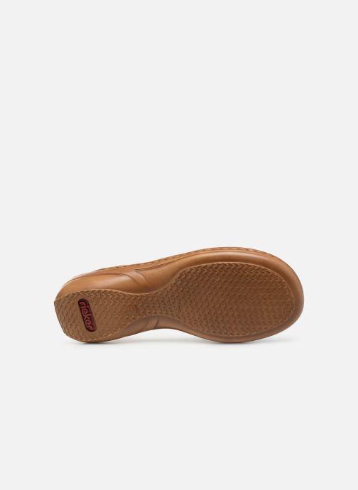 Sandales et nu-pieds Rieker Amty Bleu vue haut