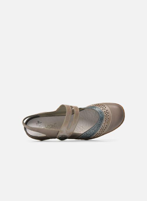 Sneakers Rieker Maki 08999 Nero immagine sinistra