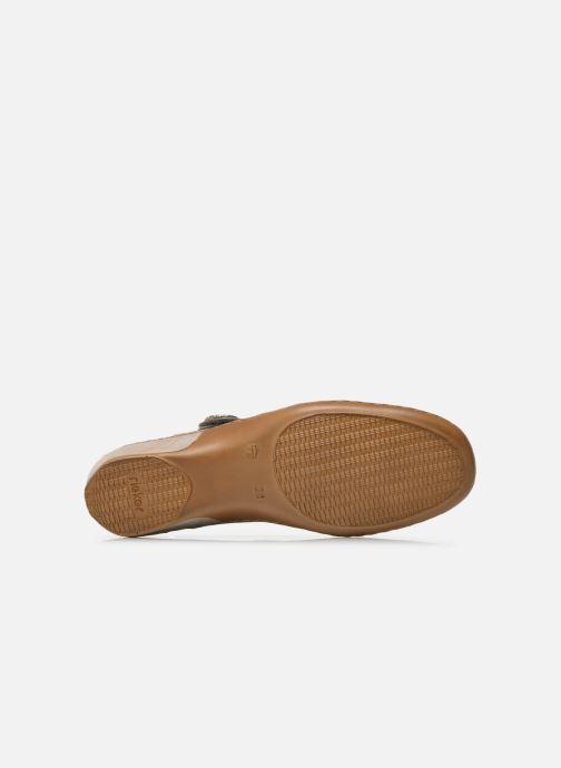 Sneakers Rieker Maki 08999 Nero immagine dall'alto