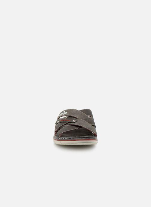 Sandali e scarpe aperte Rieker Tyr 25199 Grigio modello indossato