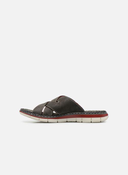 Sandali e scarpe aperte Rieker Tyr 25199 Grigio immagine frontale
