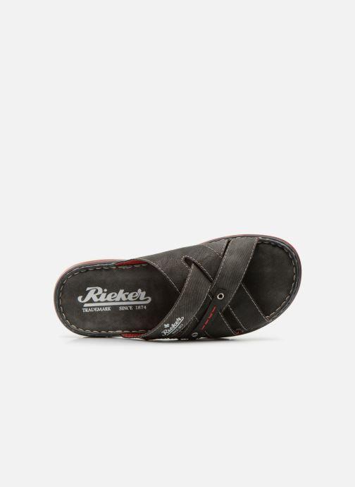 Sandali e scarpe aperte Rieker Tyr 25199 Grigio immagine sinistra
