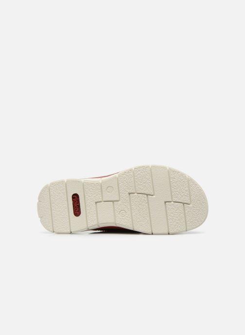 Sandali e scarpe aperte Rieker Tyr 25199 Grigio immagine dall'alto