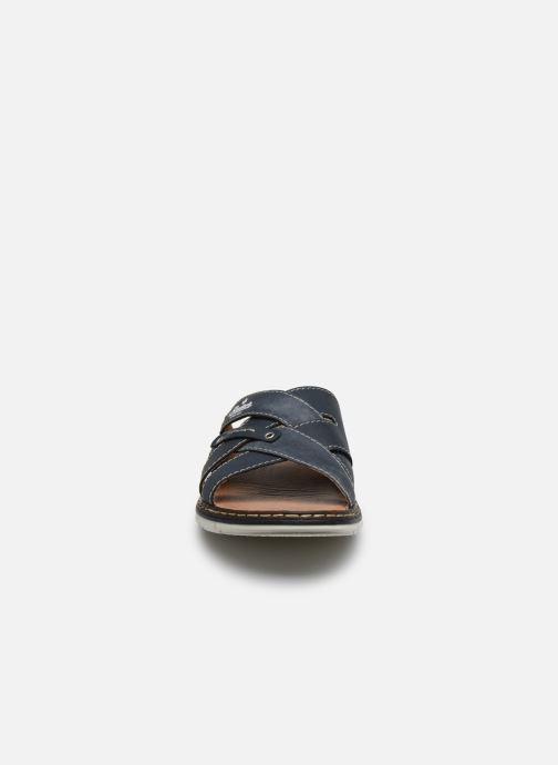 Sandales et nu-pieds Rieker Tyr Bleu vue portées chaussures