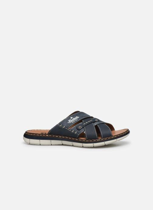 Sandales et nu-pieds Rieker Tyr Bleu vue derrière