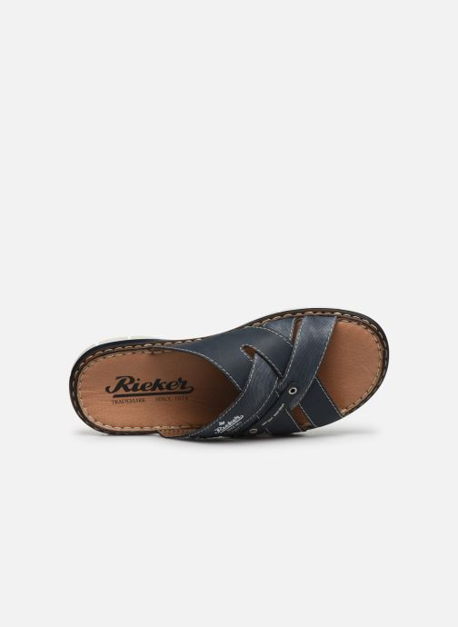 Sandales et nu-pieds Rieker Tyr Bleu vue gauche