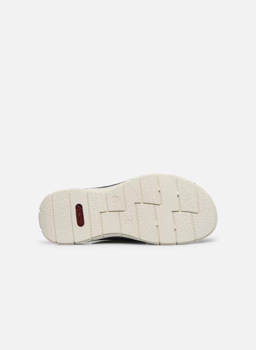 Sandales et nu-pieds Rieker Tyr Bleu vue haut