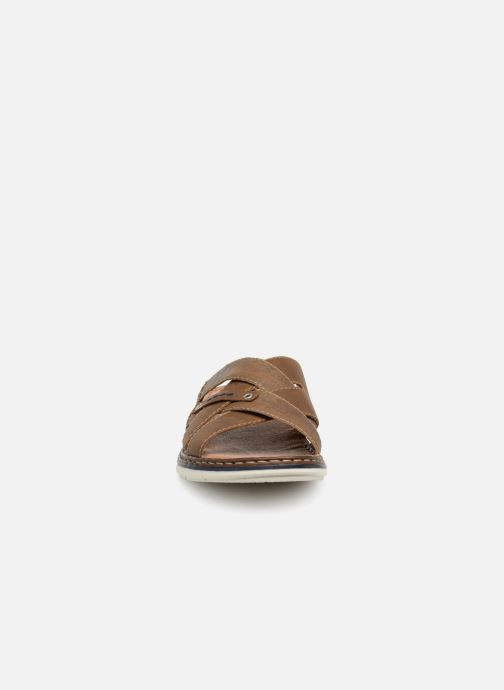 Sandales et nu-pieds Rieker Tyr 25199 Marron vue portées chaussures