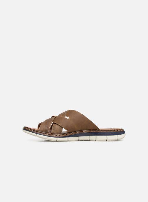 Sandales et nu-pieds Rieker Tyr 25199 Marron vue face