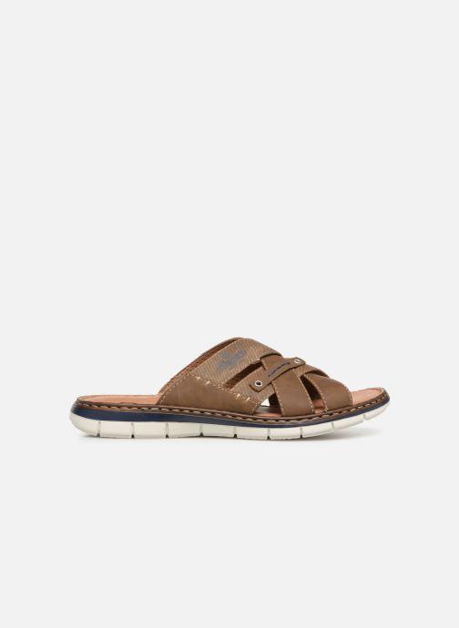 Sandales et nu-pieds Rieker Tyr 25199 Marron vue derrière