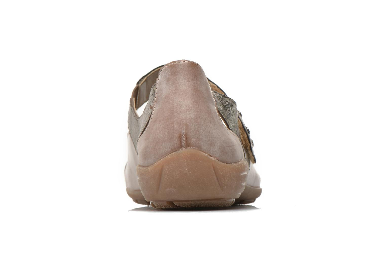 Ballet pumps Remonte Teen D4627 Beige view from the right