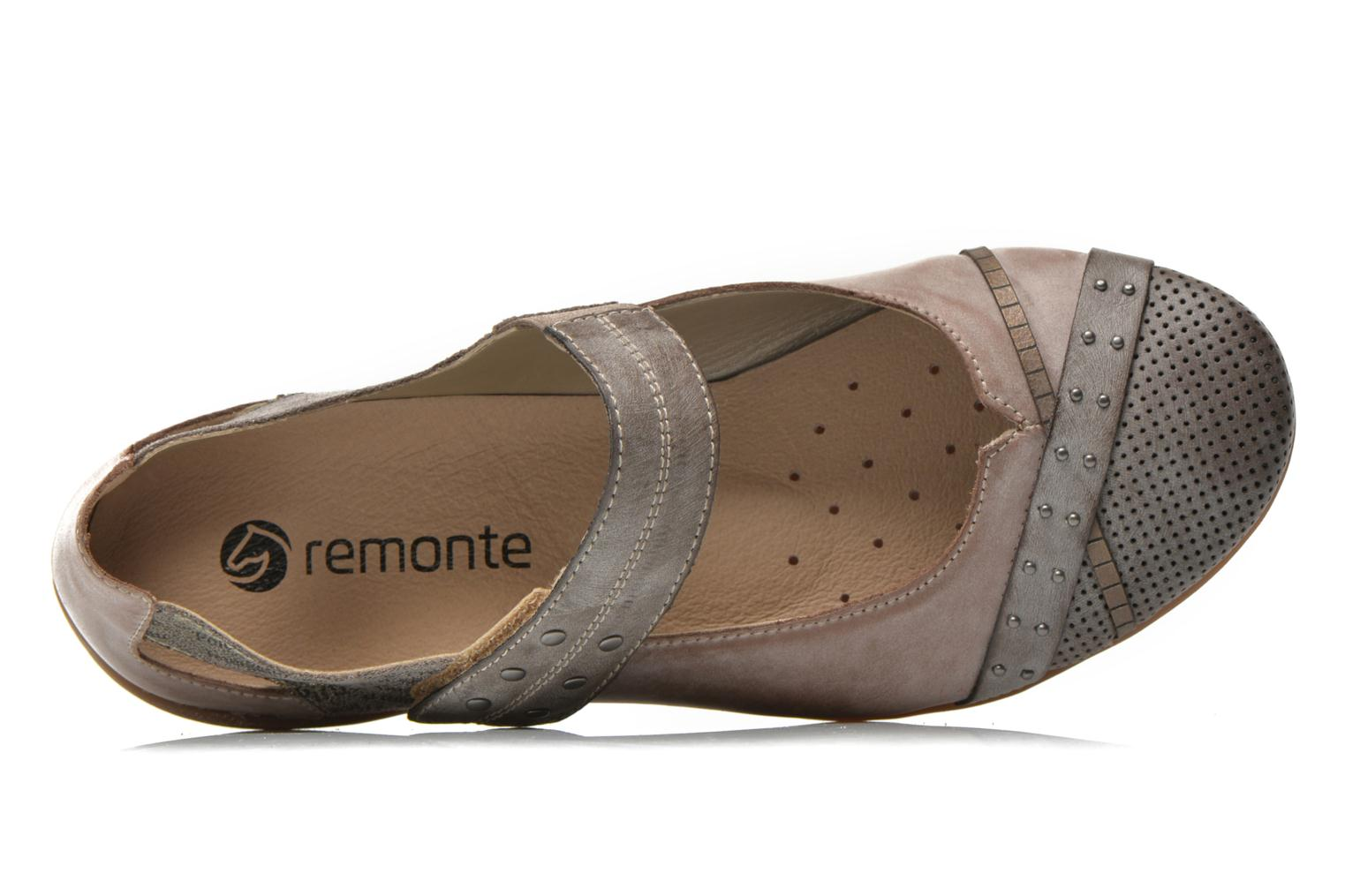 Ballet pumps Remonte Teen D4627 Beige view from the left