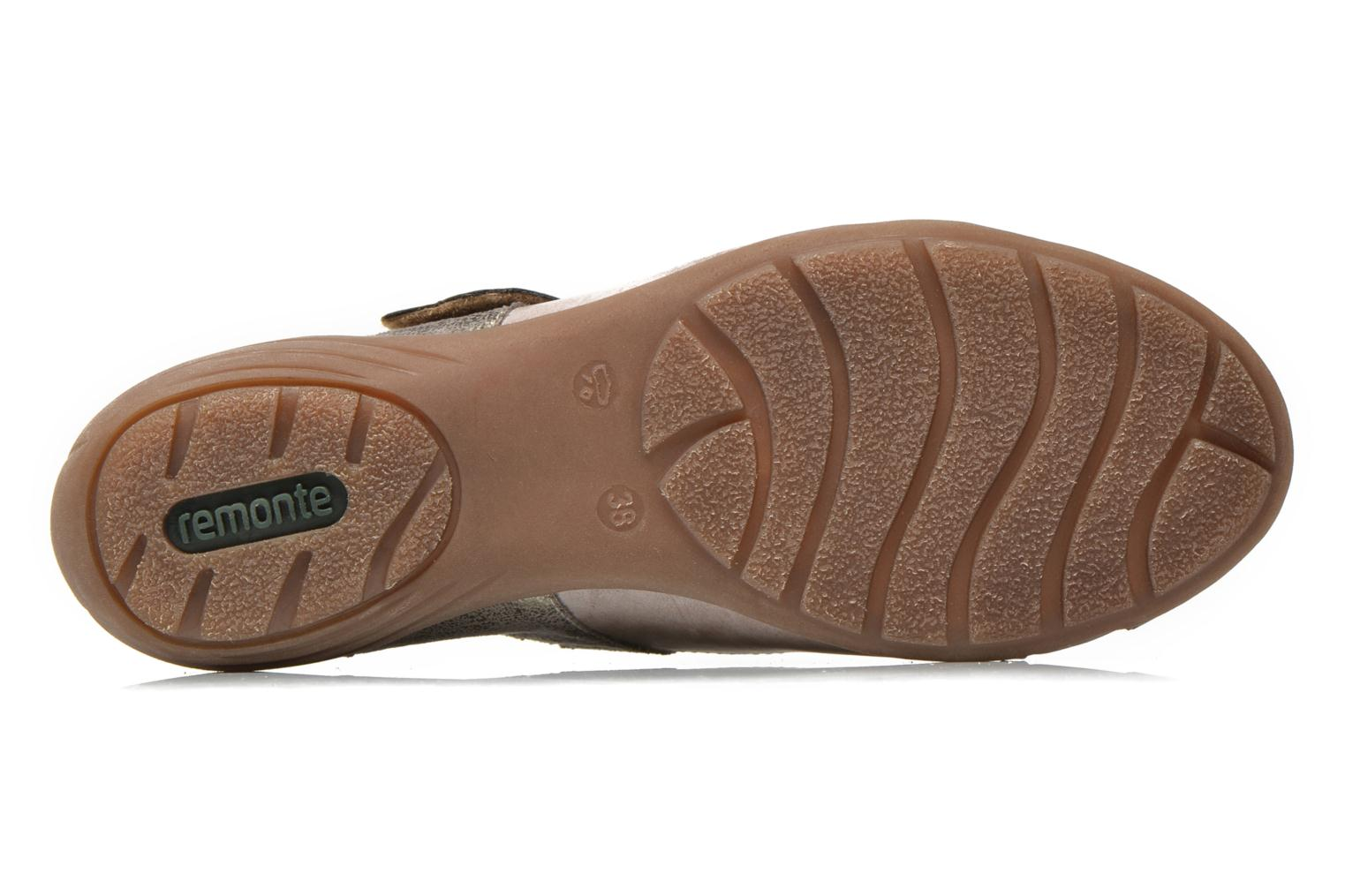 Ballet pumps Remonte Teen D4627 Beige view from above