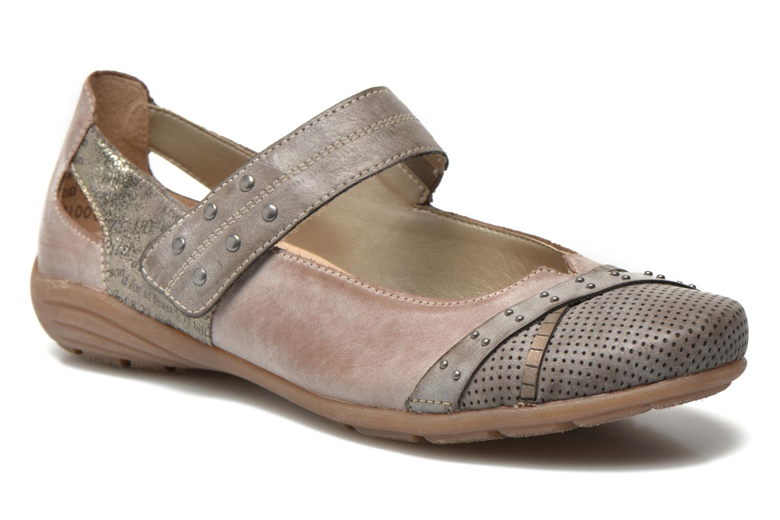 Ballet pumps Remonte Teen D4627 Beige detailed view/ Pair view