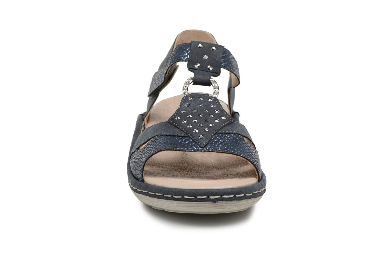Sandals Remonte Miny D7668 Blue model view