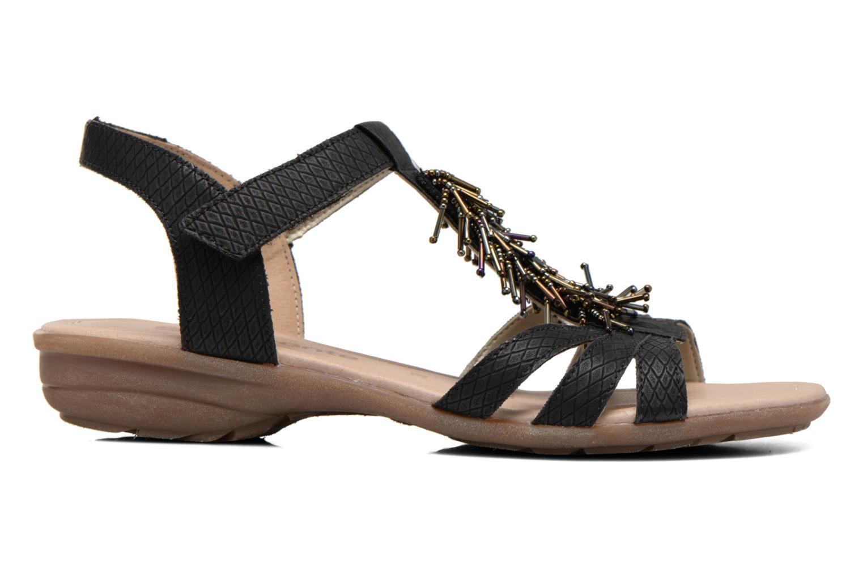Sandales et nu-pieds Remonte Hype R3645 Noir vue derrière