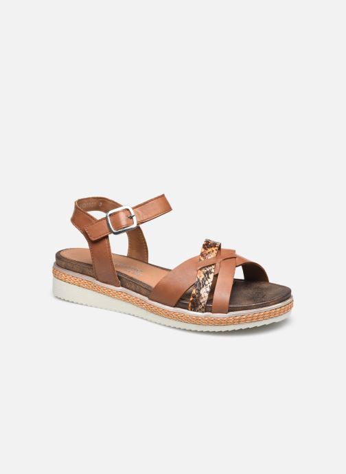 Sandales et nu-pieds Remonte Secret R4551 Marron vue détail/paire