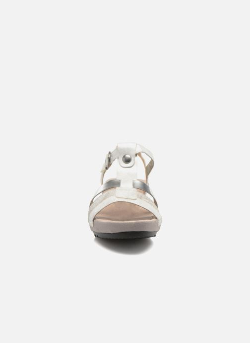 Sandalen Remonte Lou R5757 grau schuhe getragen