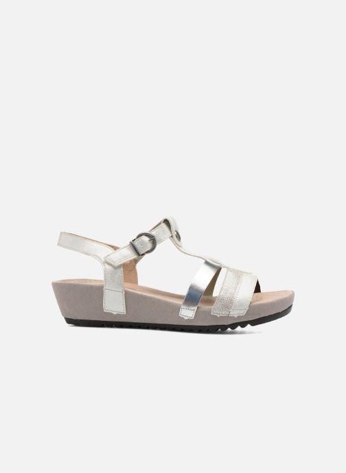 Sandales et nu-pieds Remonte Lou R5757 Gris vue derrière