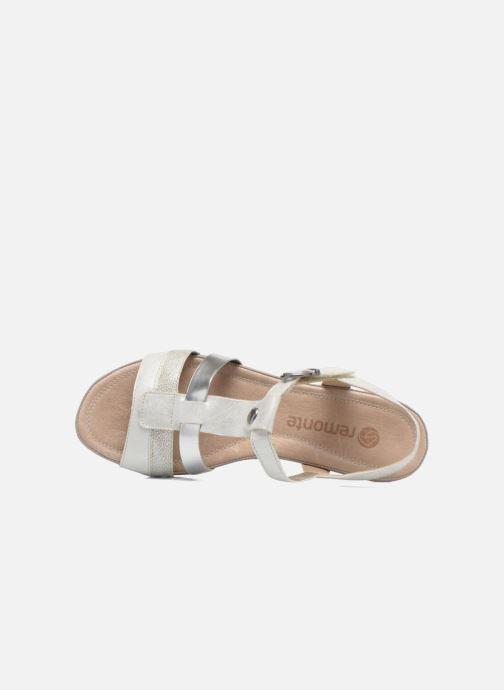 Sandalen Remonte Lou R5757 grau ansicht von links
