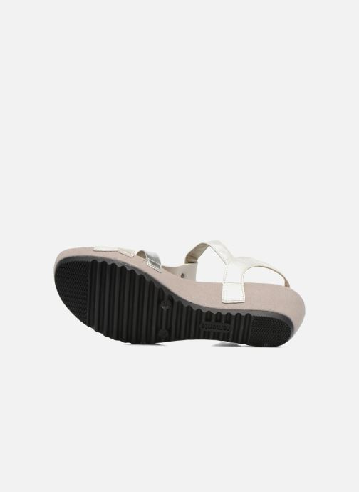 Sandales et nu-pieds Remonte Lou R5757 Gris vue haut