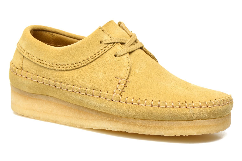 Scarpe con lacci Clarks Originals Weaver M Beige vedi dettaglio/paio