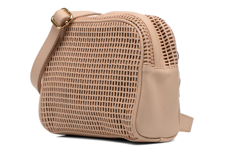 Handtaschen Craie Micro Casier beige schuhe getragen