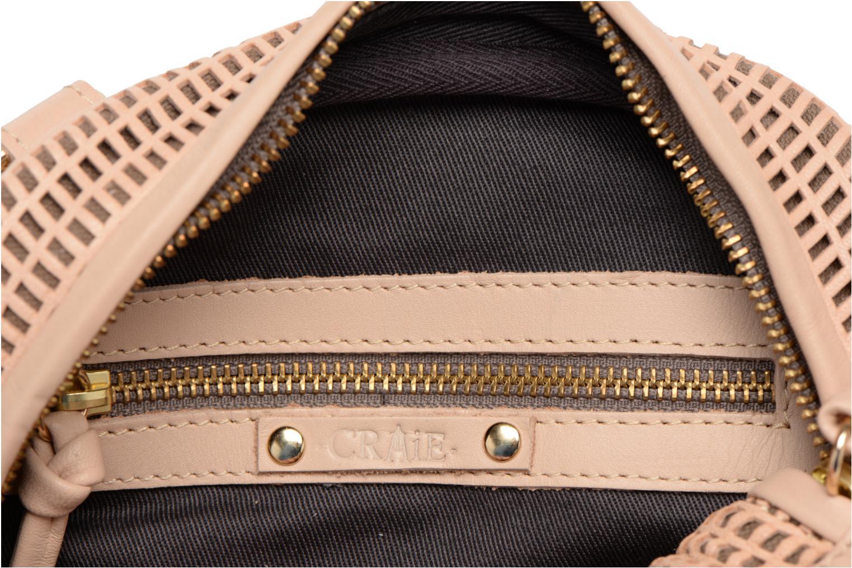 Handtaschen Craie Micro Casier beige ansicht von hinten