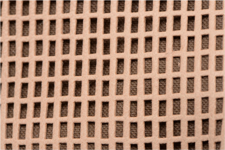 Sacs à main Craie Micro Casier Beige vue gauche
