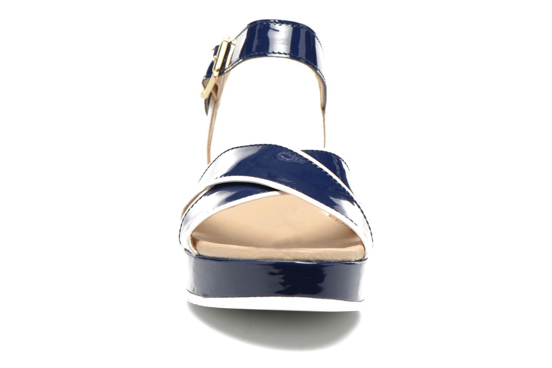 Sandales et nu-pieds Georgia Rose Aniki Bleu vue portées chaussures