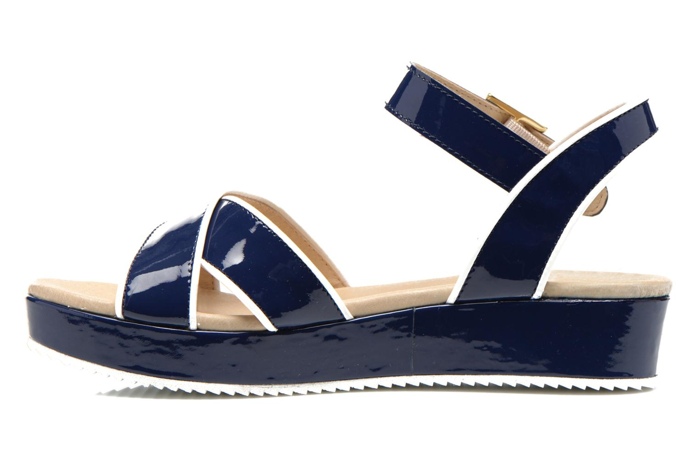 Sandales et nu-pieds Georgia Rose Aniki Bleu vue face
