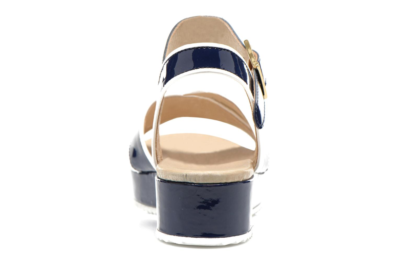 Sandales et nu-pieds Georgia Rose Aniki Bleu vue droite