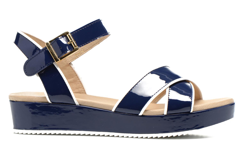 Sandales et nu-pieds Georgia Rose Aniki Bleu vue derrière