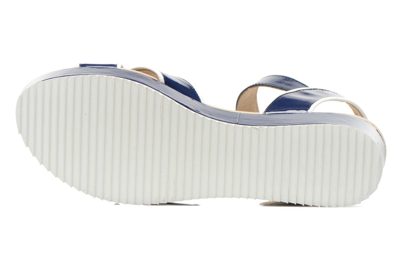 Sandales et nu-pieds Georgia Rose Aniki Bleu vue haut