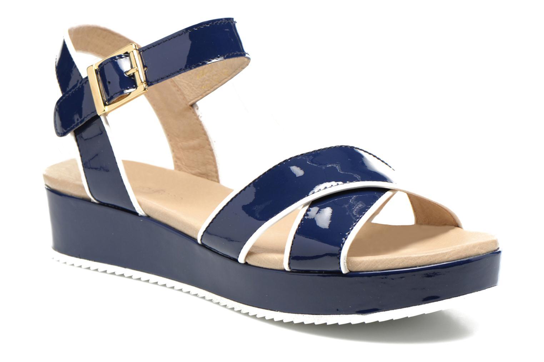 Sandales et nu-pieds Georgia Rose Aniki Bleu vue détail/paire