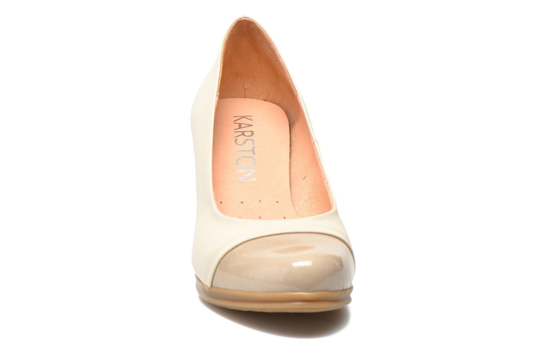 Escarpins Karston Londre Beige vue portées chaussures