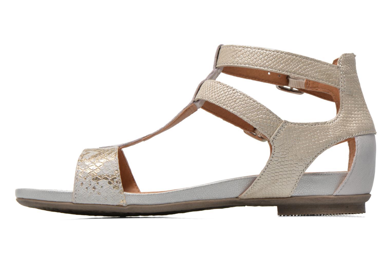 Sandales et nu-pieds Karston Kozin Beige vue face
