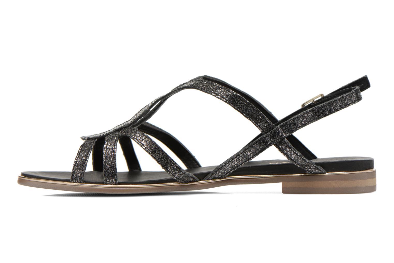Sandalen Karston Sofor schwarz ansicht von vorne