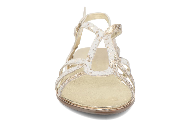 Sandales et nu-pieds Karston Sofor Or et bronze vue portées chaussures