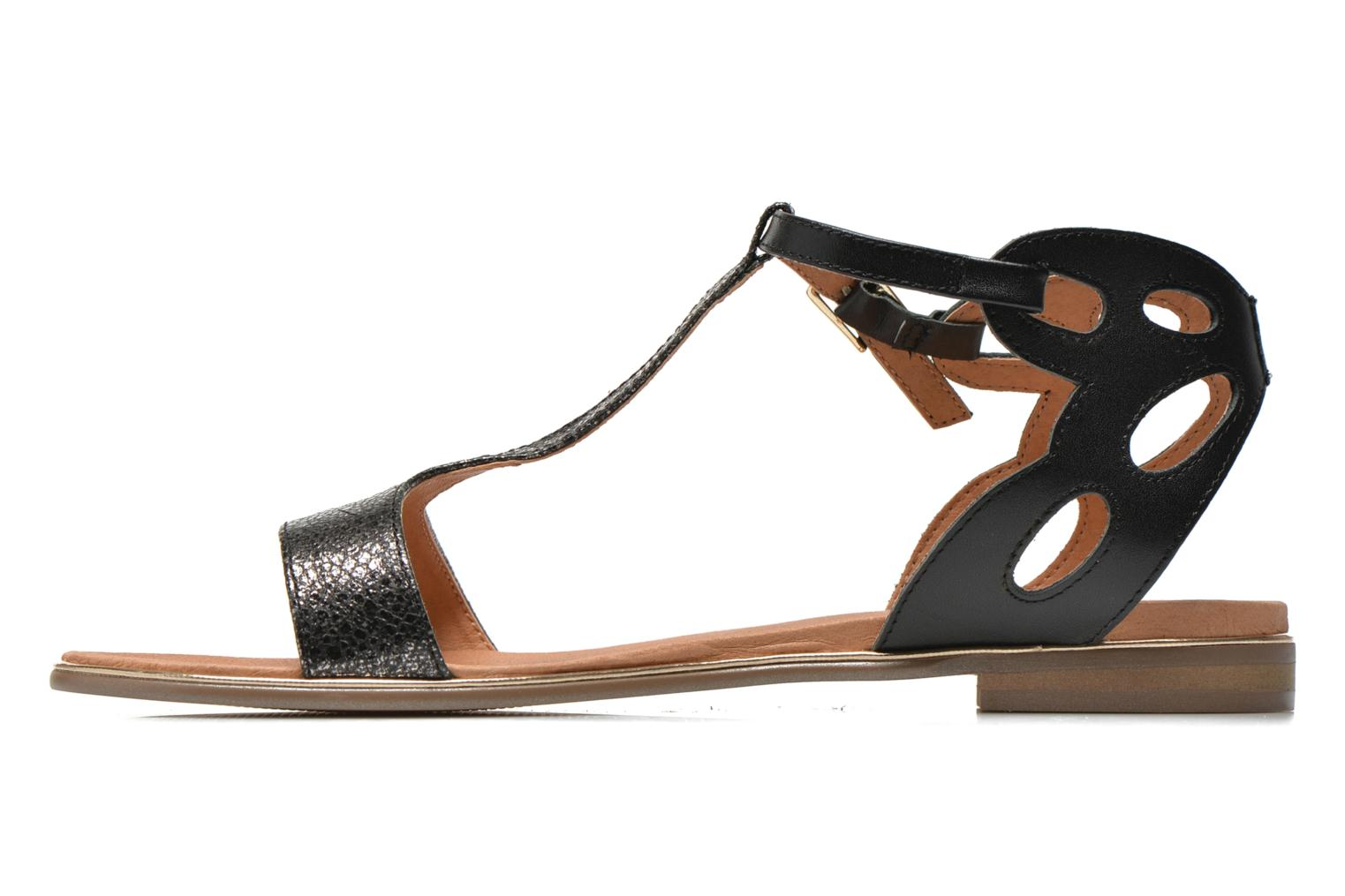 Sandals Karston Sonat Black front view