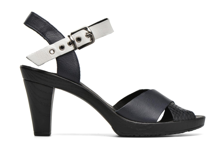 Sandales et nu-pieds Karston Juxin Noir vue derrière