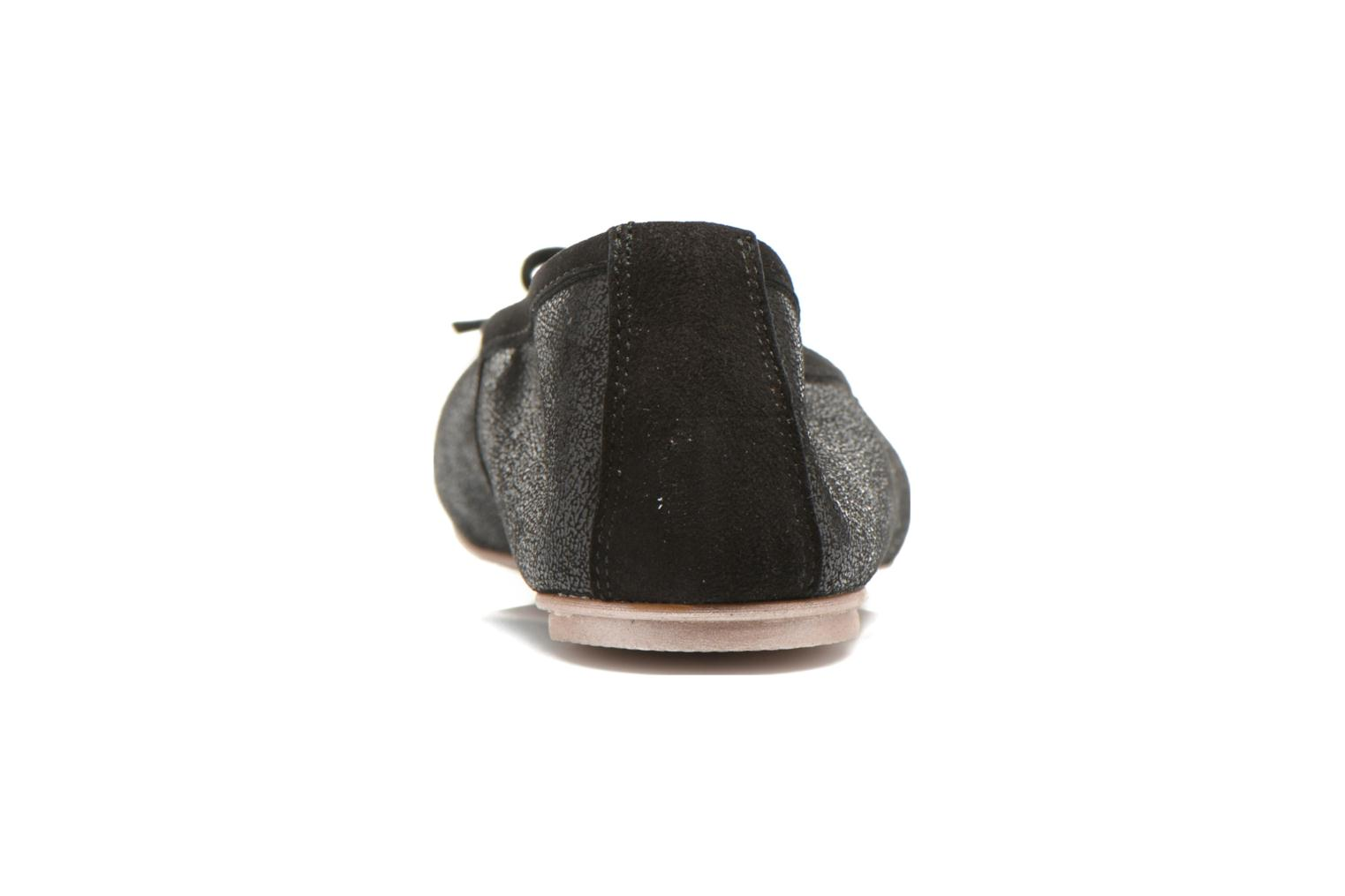 Ballet pumps Karston Rebeca Black view from the right