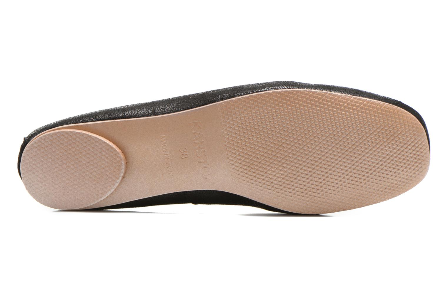 Ballet pumps Karston Rebeca Black view from above