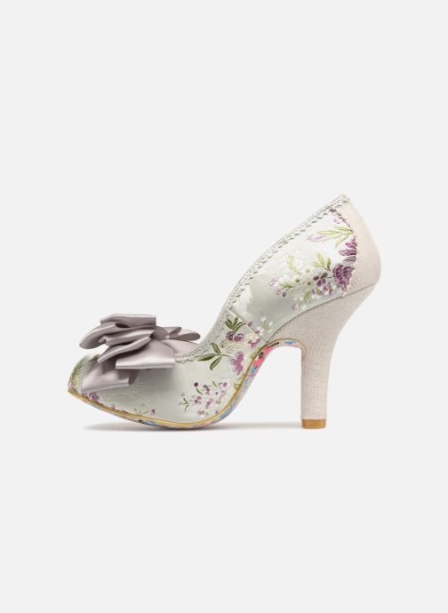 High heels Irregular choice Ascot Grey front view