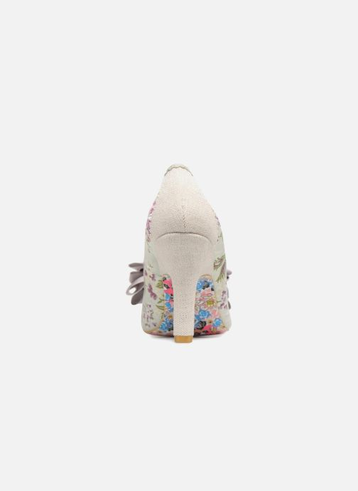 High heels Irregular choice Ascot Grey view from the right