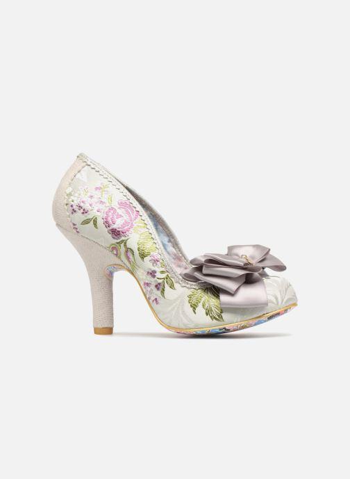 High heels Irregular choice Ascot Grey back view
