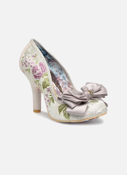 High heels Irregular choice Ascot Grey detailed view/ Pair view