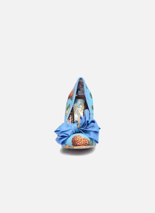 High heels Irregular choice Ascot Blue model view